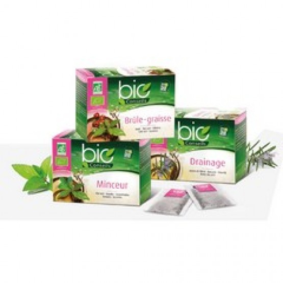 Assortiment 3 boîtes d'infusions Bio